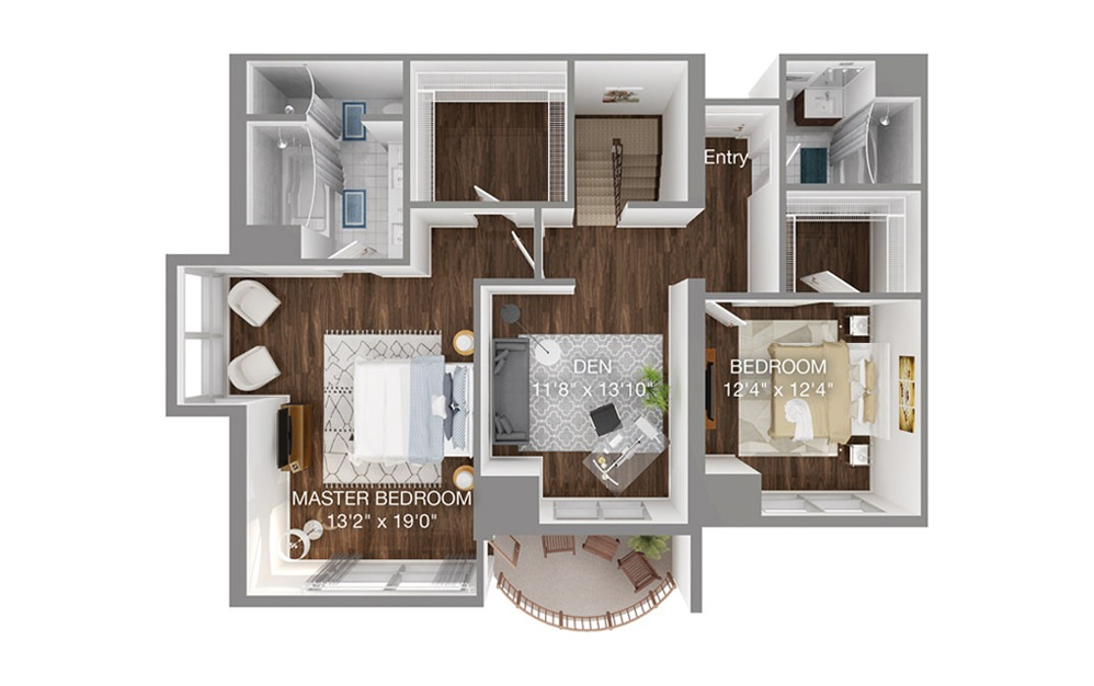 p floor two